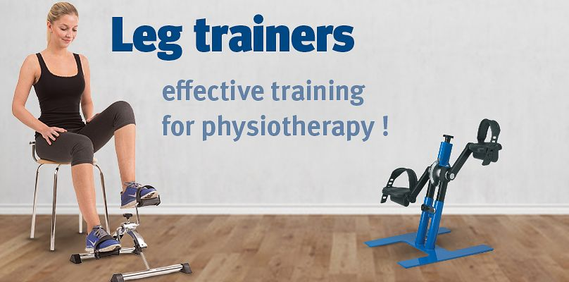 Leg trainers: perfect partners for the therapy