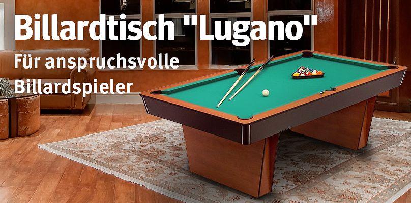 """Billardtisch """"Lugano"""" - Für anspruchsvolle Billardspieler"""