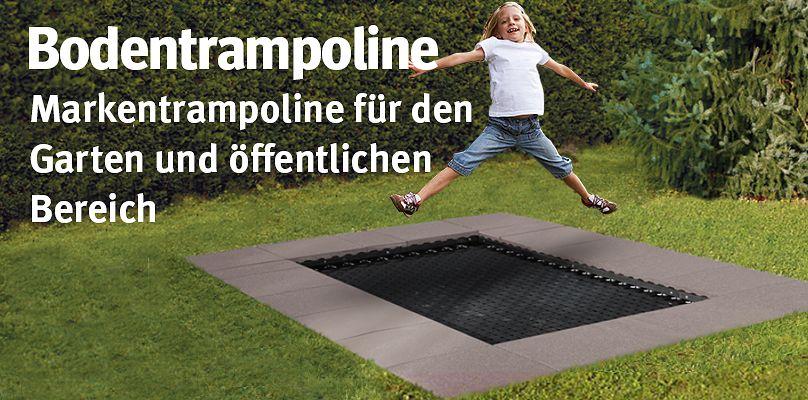 Bodentrampoline: Markentrampoline für den Garten & öffentlichen Bereich