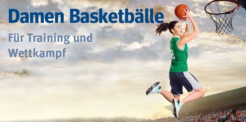 Damen Basketbälle: Für Training und Wettkampf