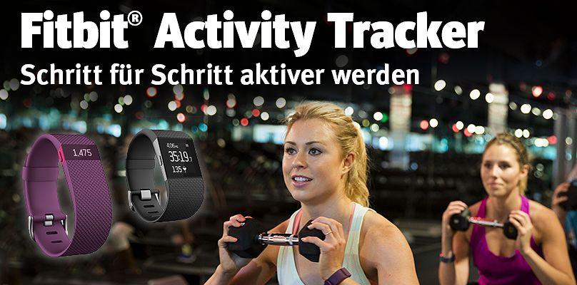 Aktiv werden mit dem Fitbit Activity Tracker