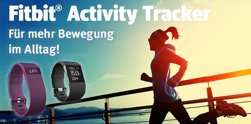 Fitbit Activity Tracker - Für mehr Bewegung im Alltag