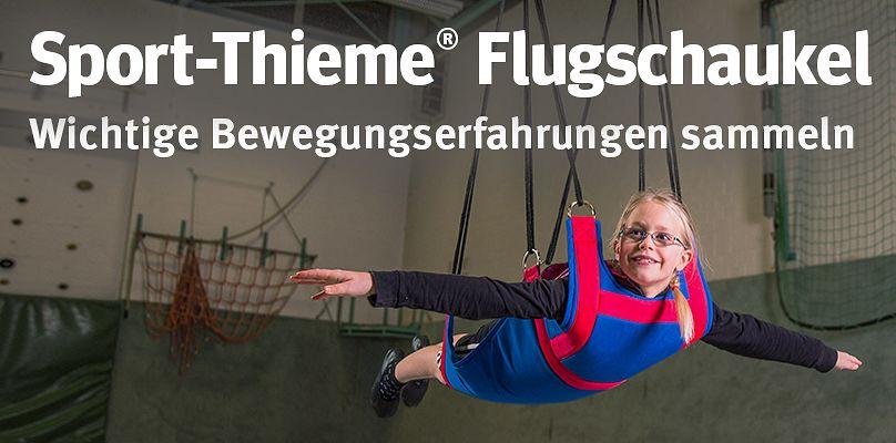 Sport-Thieme® Flugschaukel - Wichtige Bewegungserfahrungen sammeln