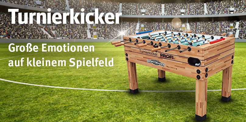 Turnierkicker bei Sport-Thieme