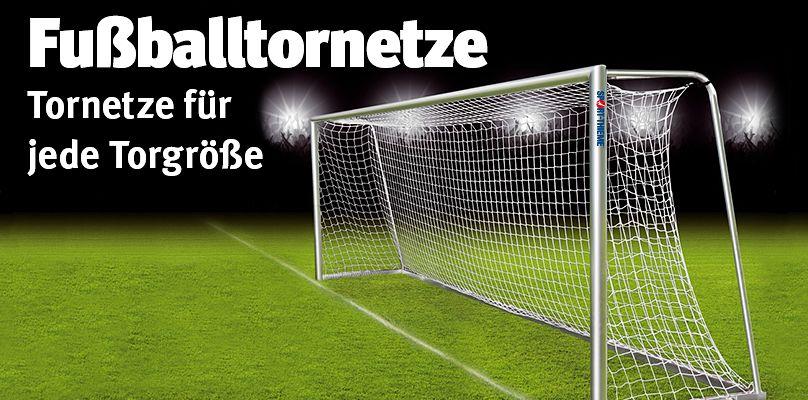 Fußballtornetze für jede Torgröße