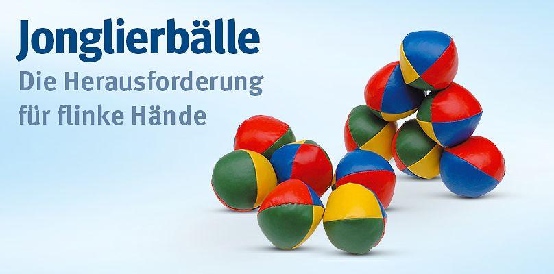 Jonglierbälle - Für flinke Hände