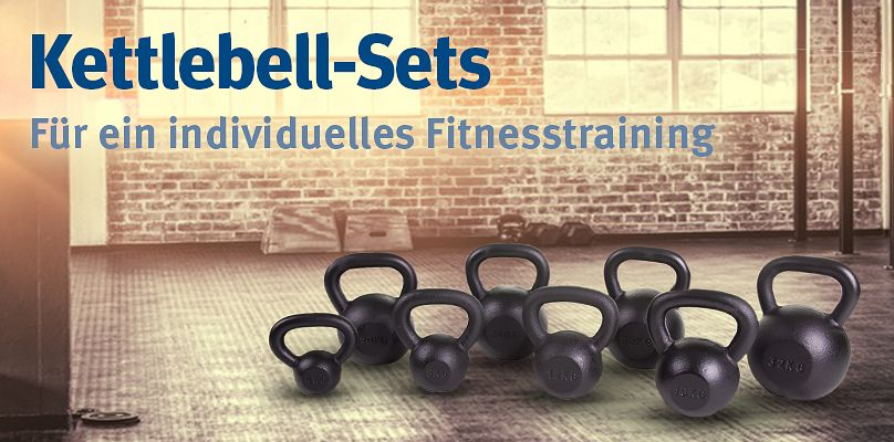 Kettlebell-Sets - Für ein individuelles Fitnesstraining