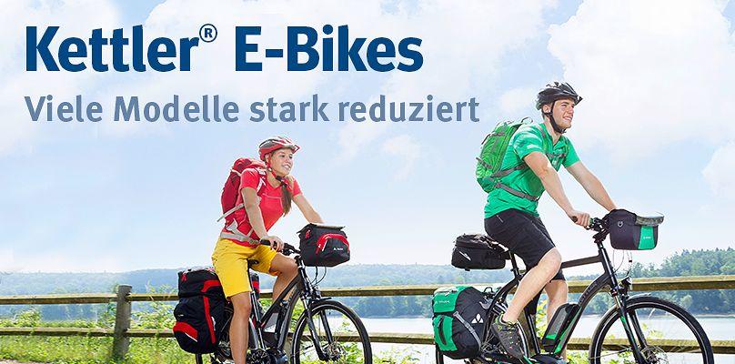 Kettler® E-Bikes für anspruchsvolles Trekking