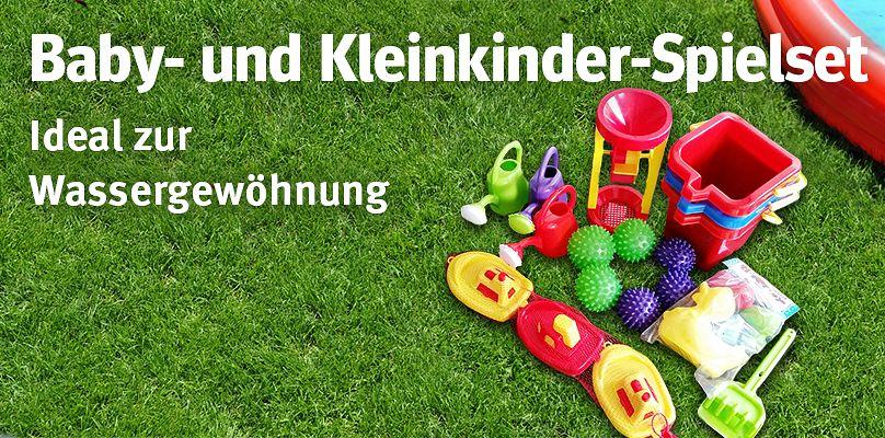 Baby- und Kleinkinder-Spielset - Ideal zur Wassergewöhnung
