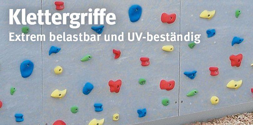 Klettergriffe - Extrem robust un UV-beständig