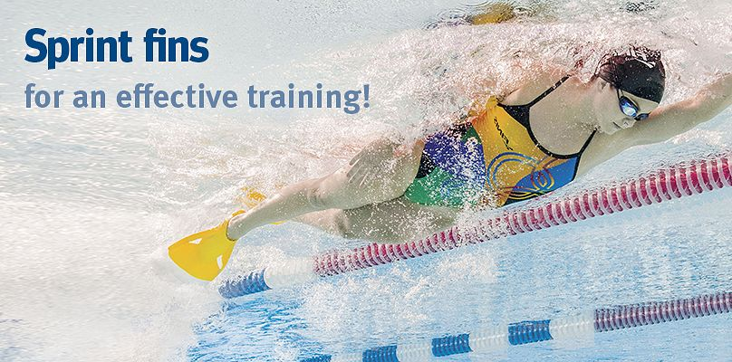 Sprint fins for an effective training