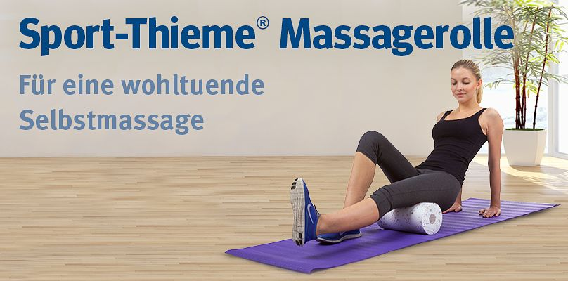 Massagerolle - Für eine wohltuende Selbstmassage