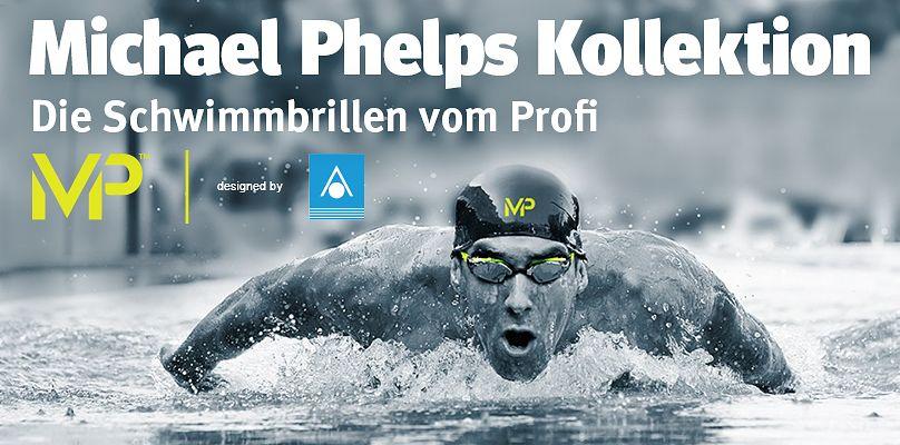 Michael Phelps - Die Schwimmbrillen vom Profi