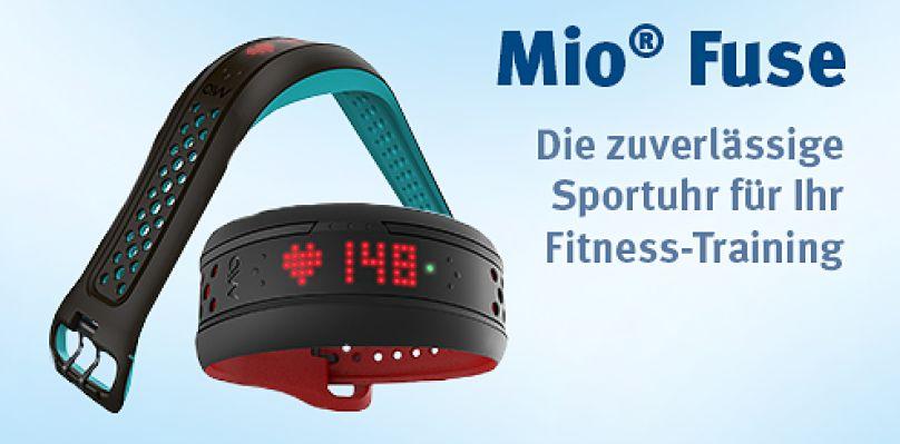 Mio® Fuse - Die zuverlässige Sportuhr für Ihr Fitness-Training