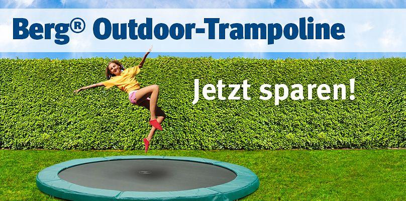 Outdoor-Trampoline im Sale bei Sport-Thieme