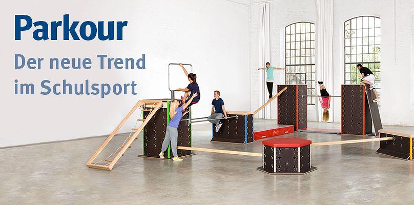 Parkour: Der neue Trend im Schulsport