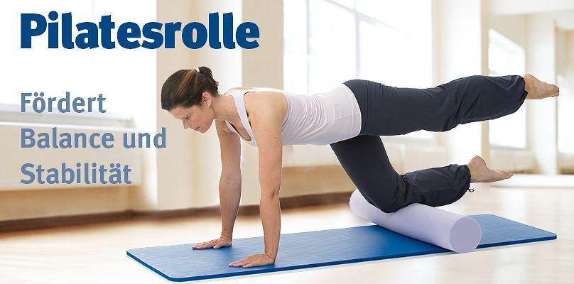Pilatesrolle - Fördert Balance und Stabilität