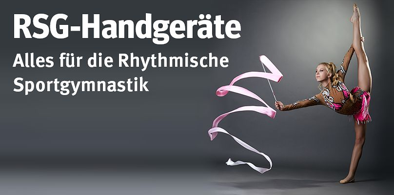 RSG-Handgeräte - Alles für die Rhythmische Sportgymnastik