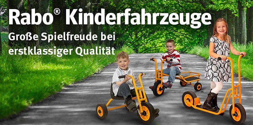 Rabo® Kinderfahrzeuge - erstklassige Qualität