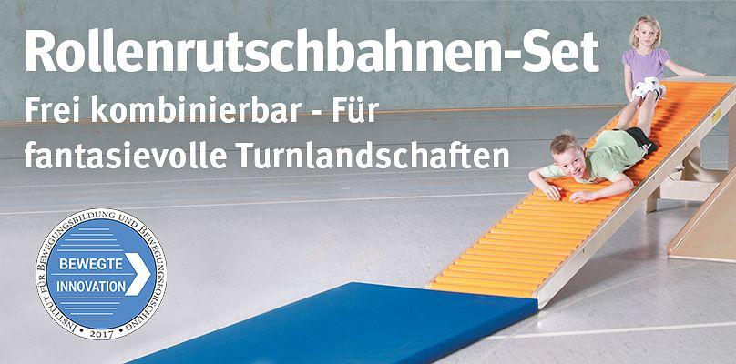 Rollenrutschbahnen-Set – Frei kombinierbar für fantasievolle Turnlandschaften
