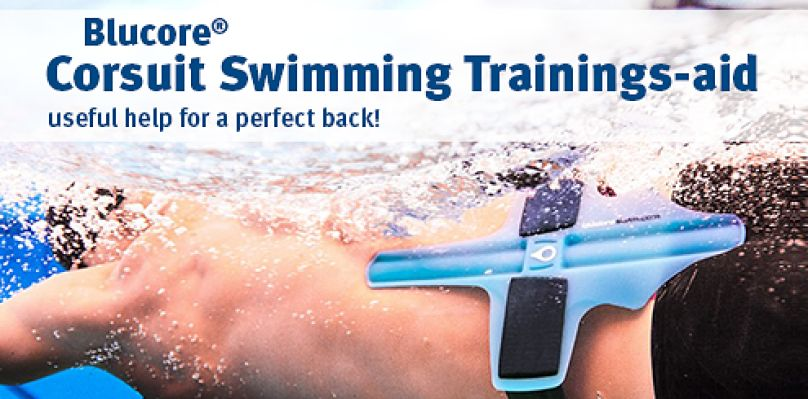 Blucore(R) Corsuit Swimming Trainings-aid: useful help for a perfect back!
