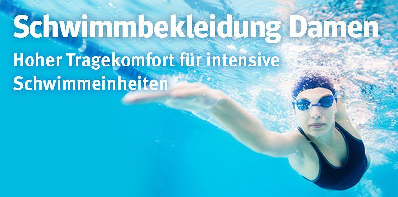 Schwimmbekleidung Damen - Hoher Tragekomfort für intensive Schwimmeinheiten