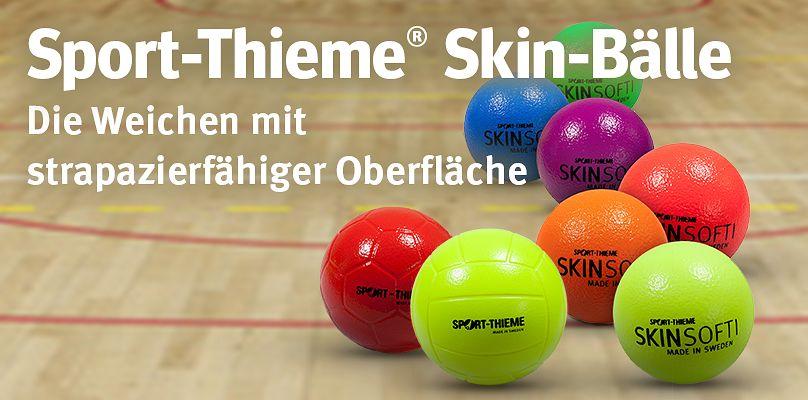 Sport-Thieme® Skin-Bälle - Die Weichen mit strapazierfähiger Oberfläche