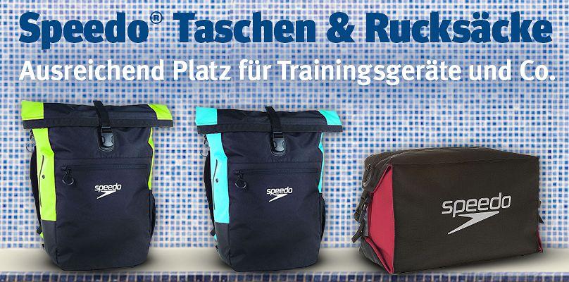 Speedo Taschen - Ausreichend Platz für Trainingsgeräte und Co.