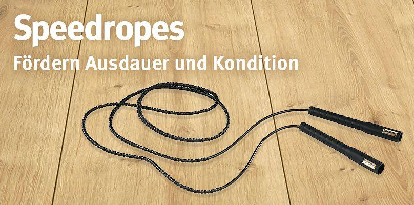 Speedropes - Fördern Ausdauer und Kondition