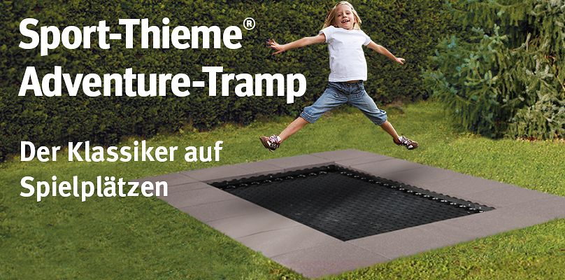 bodentrampoline bestellen sie einfach bei sport thieme. Black Bedroom Furniture Sets. Home Design Ideas