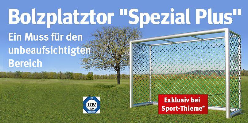 Das Sport-Thieme® Bolzplatztor Spezial Plus