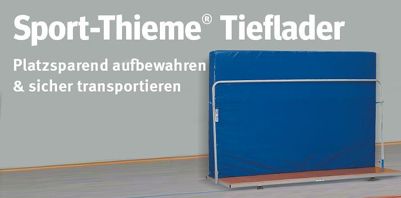 Sport-Thieme® Tiefladere - Platzsparend aufbewahren & sicher transportieren