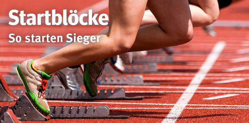 Startblöcke - So starten Sieger