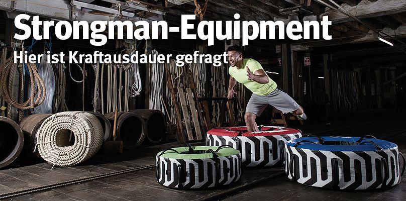 Strongman-Equipment - Kraftausdauer steigern