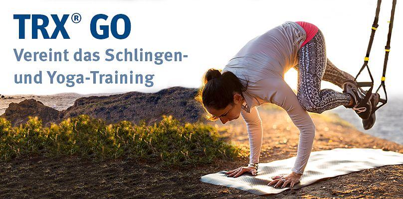 TRX GO - Vereint Schlingen- und Yoga-Training