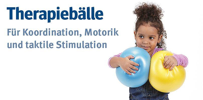 Therapiebälle -  Für Koordination, Motorik und taktile Stimulation