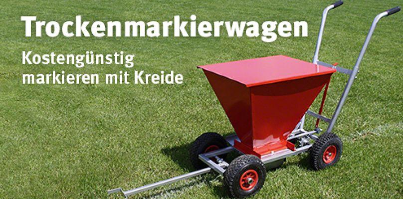 Trockenmarkierwagen - Kostengünstig markieren mit Kreide