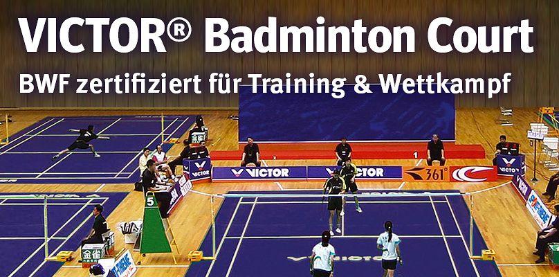 VICTOR® Badminton Court