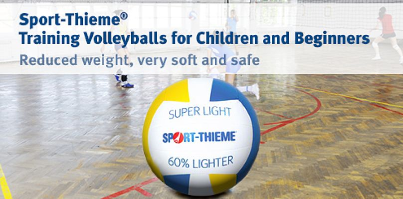 Sport-Thieme Training Volleyballs for beginners