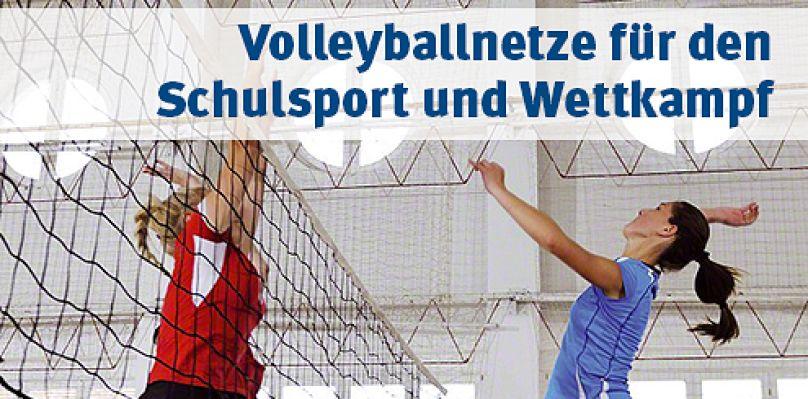 Volleyballnetze für Schule und Verein bei Sport-Thieme kaufen