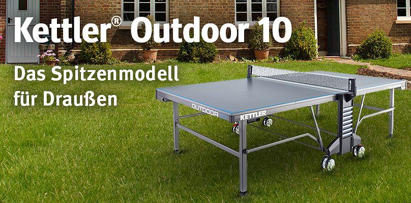 Wetterfeste Tischtennistische - Für packende Matches, egal bei welchem Wetter