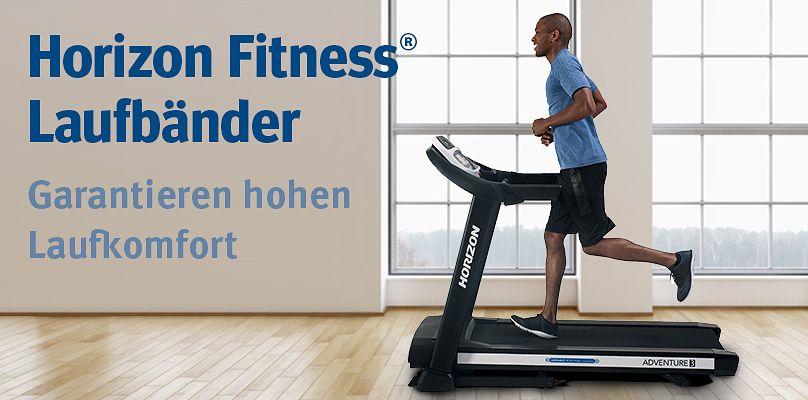 Horizon Fitness Laufbänder - Garantieren hohen Laufkomfort
