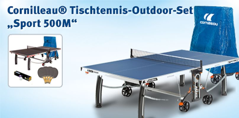outdoor tischtennisplatte tt spa f r drau en von sport thieme. Black Bedroom Furniture Sets. Home Design Ideas