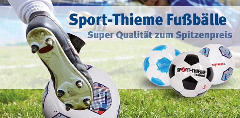 Fußbälle zum Spitzenpreis bei Sport-Thieme®