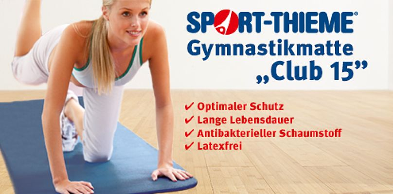 "Sport-Thieme Gymnastikmatte ""Club 15"""