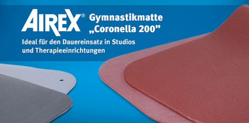 """Airex Gymnastikmatte """"Coronella 200"""""""
