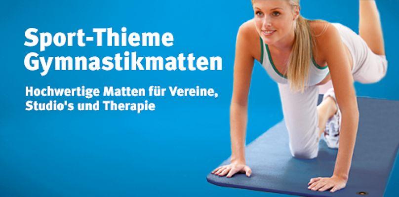 Hochwertige Gymnastikmatten von Sport-Thieme