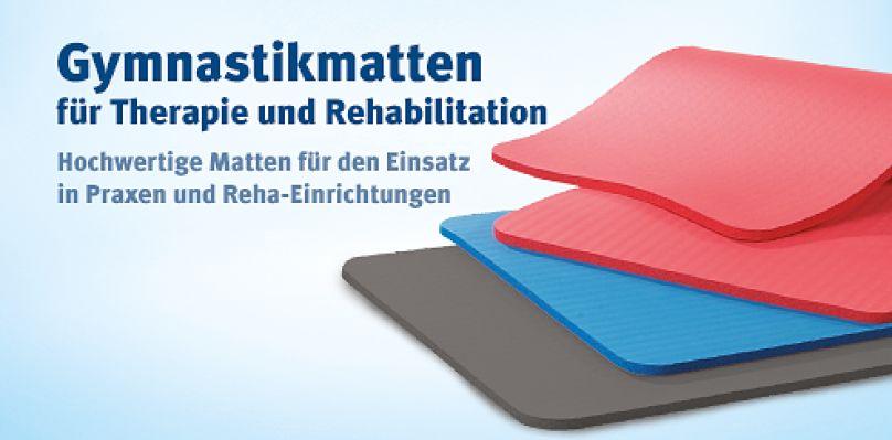 Gymnastikmatten für Therapie und Rehabilitation