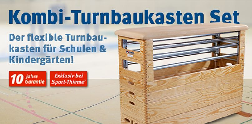 Kombi-Turnbaukasten Set