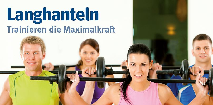 Langhantel Training - Hantelsets für Ihr Gruppen-Workout